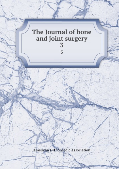 The Journal of bone and joint surgery. 3