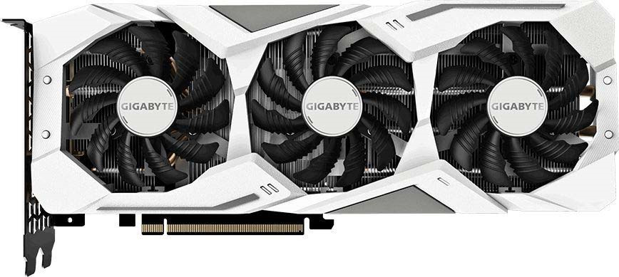Видеокарта Gigabyte GeForce RTX 2070 Gaming OC White 8GB, GV-N2070GAMINGOC WHITE-8GC ginzzu gt x770 v2 lte 8gb white