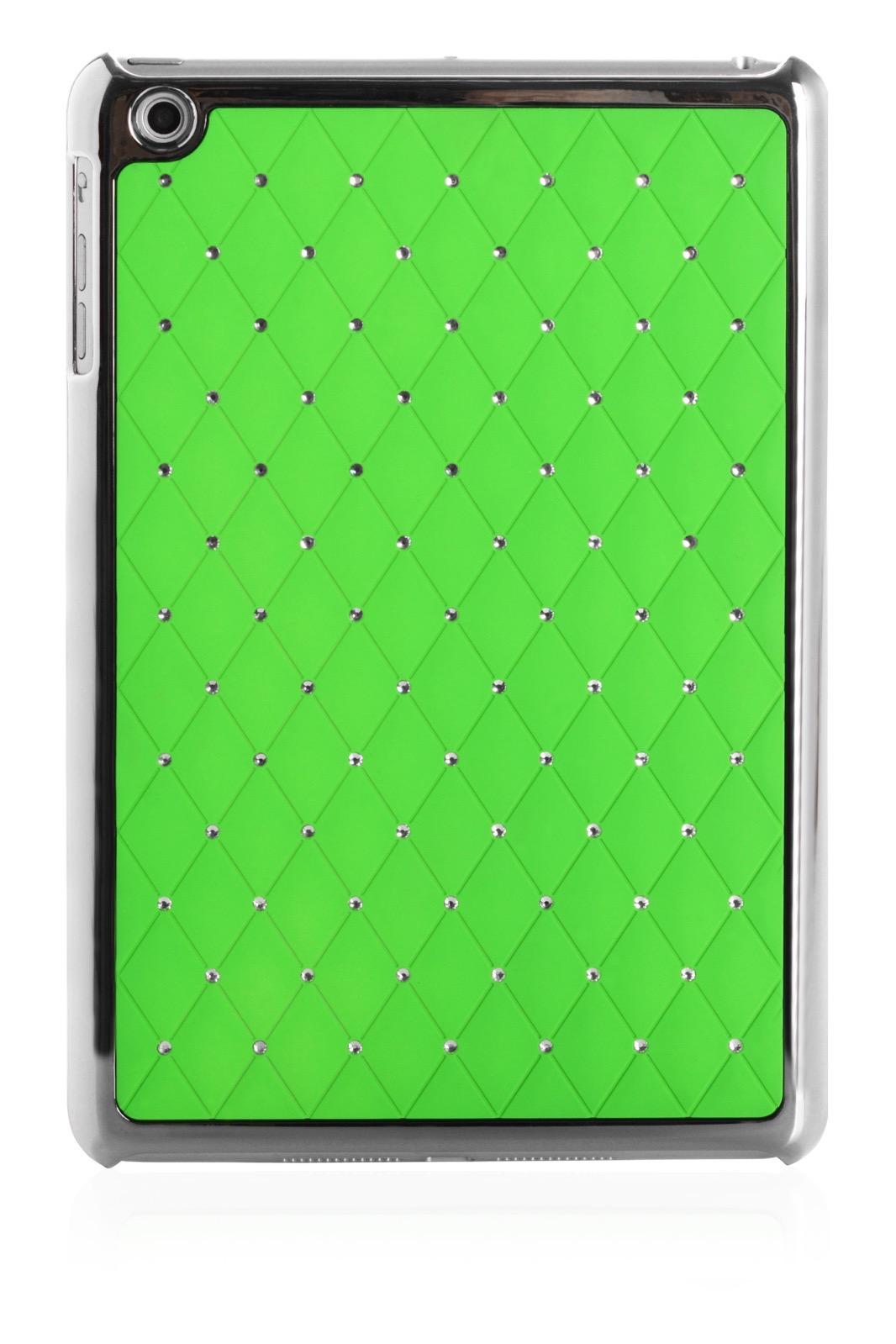 "Чехол для планшета iNeez накладка стежка с кристаллами 410150 для Apple iPad mini 7.9"", зеленый"