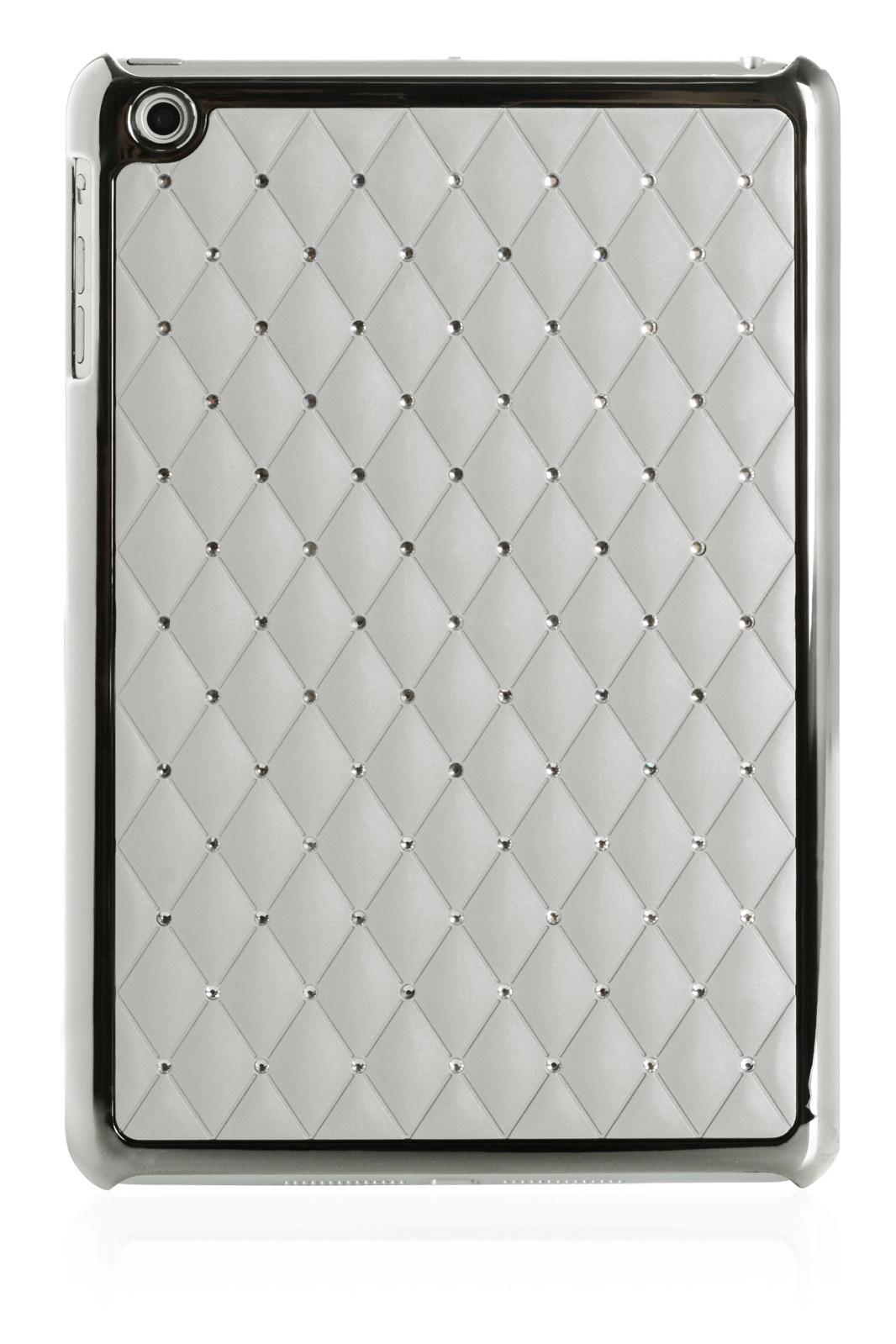 Чехол для планшета iNeez накладка стежка с кристаллами 410148 Apple iPad mini 7.9, серый