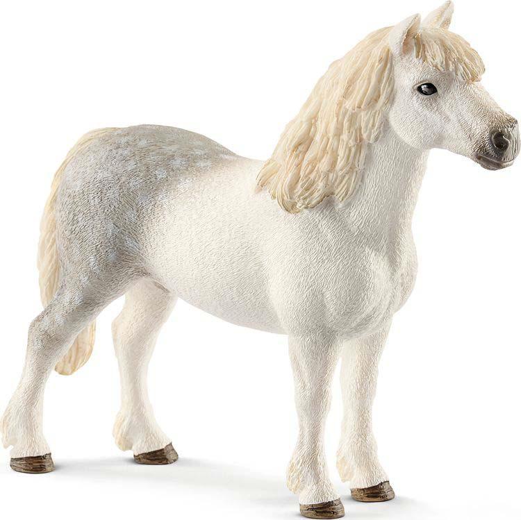 Фигурка Schleich Жеребец Уэльского пони, 13871 schleich конюх и исландский пони