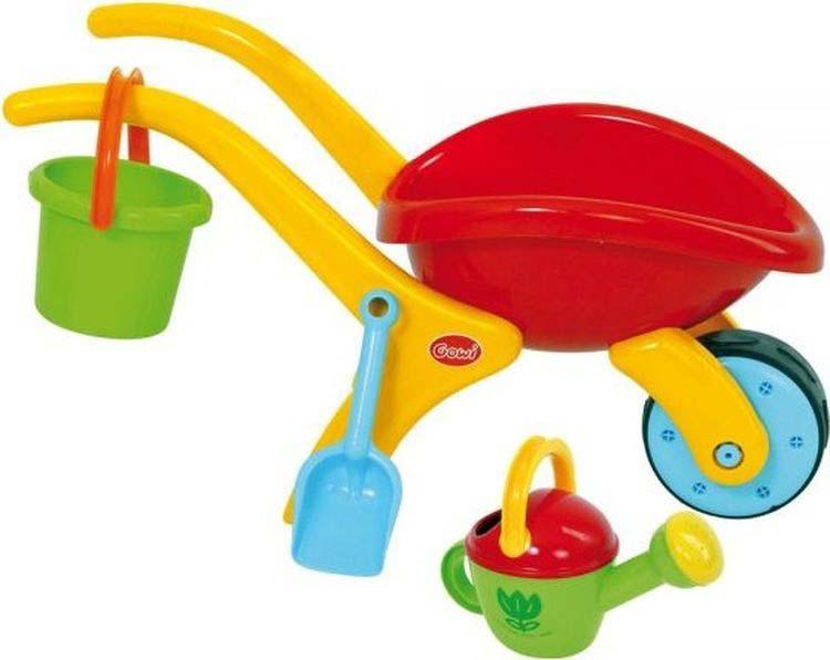 Набор игры с песком и водой Gowi, 557-52, 3 предмета развивающие игрушки gowi ведерко пирамидка 21 предмет