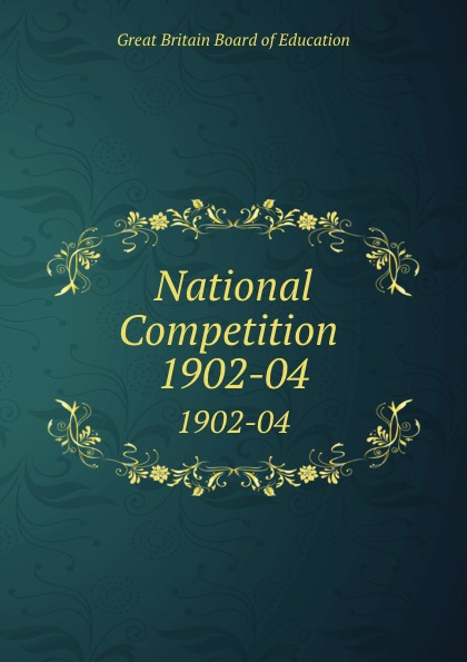 Great Britain Board of Education National Competition . 1902-04 1045 automotive computer board