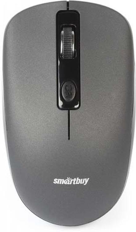 Беспроводная мышь Smartbuy ONE 345AG, SBM-345AG-G, серый smartbuy sbm 330ag w white