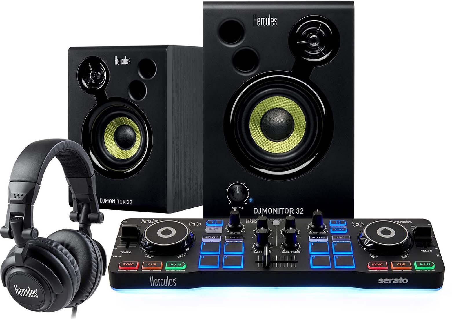 DJ-пульт Hercules DJStarter Kit, черный