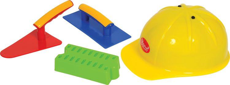 Игрушка для песочницы Gowi Набор строителя, 558-67 развивающие игрушки gowi ведерко пирамидка 21 предмет