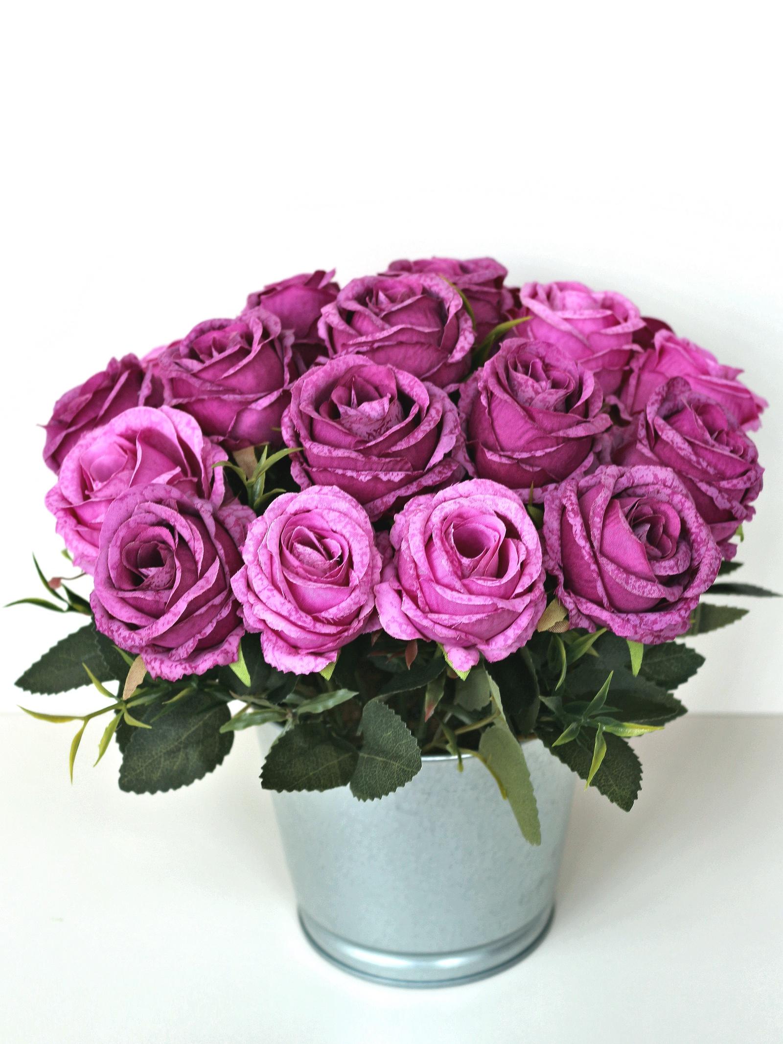 Искусственные цветы 403042, фиолетовый