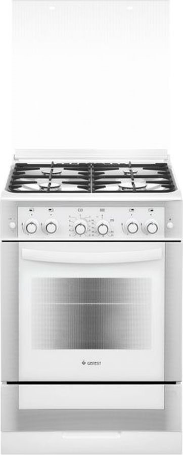 Плита Gefest 6300-02 0040, белый газовая плита gefest пг 5300 02 0040