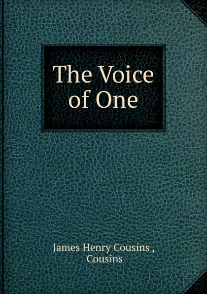 """The Voice of One Эта книга — репринт оригинального издания (издательство""""T..."""