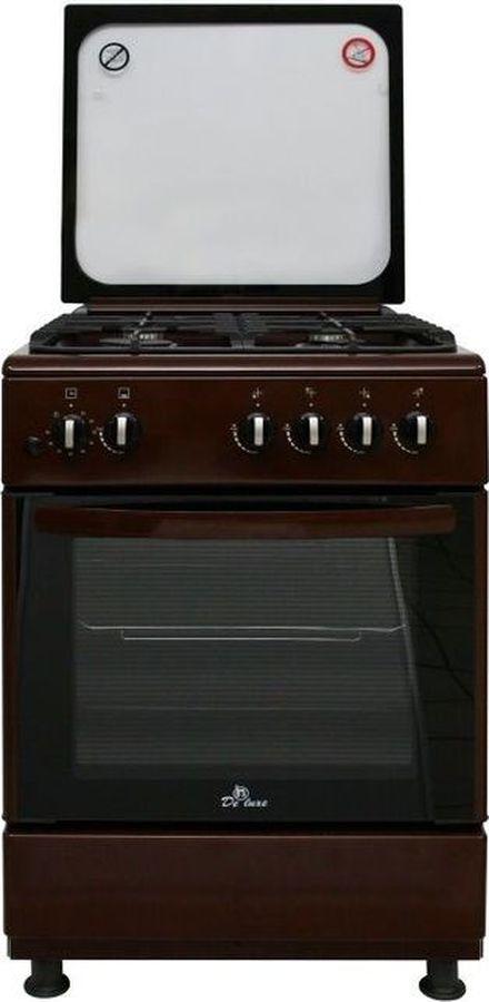 Плита De luxe 606040.24г 002 (кр) ЧР, коричневый цена и фото