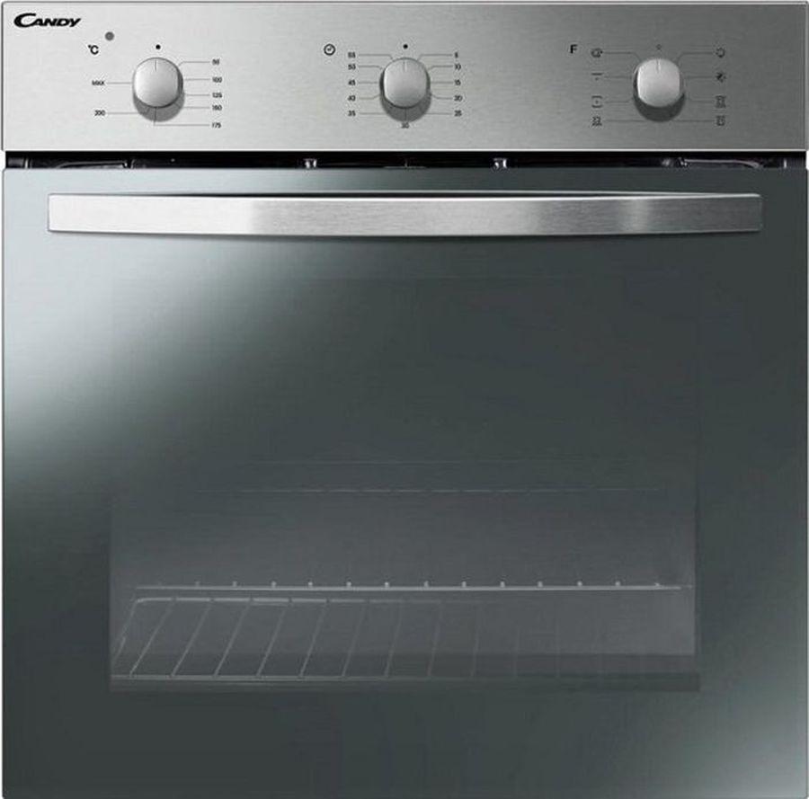 Духовой шкаф Candy FCS 612X, черный встраиваемый электрический духовой шкаф candy fcs 100 x