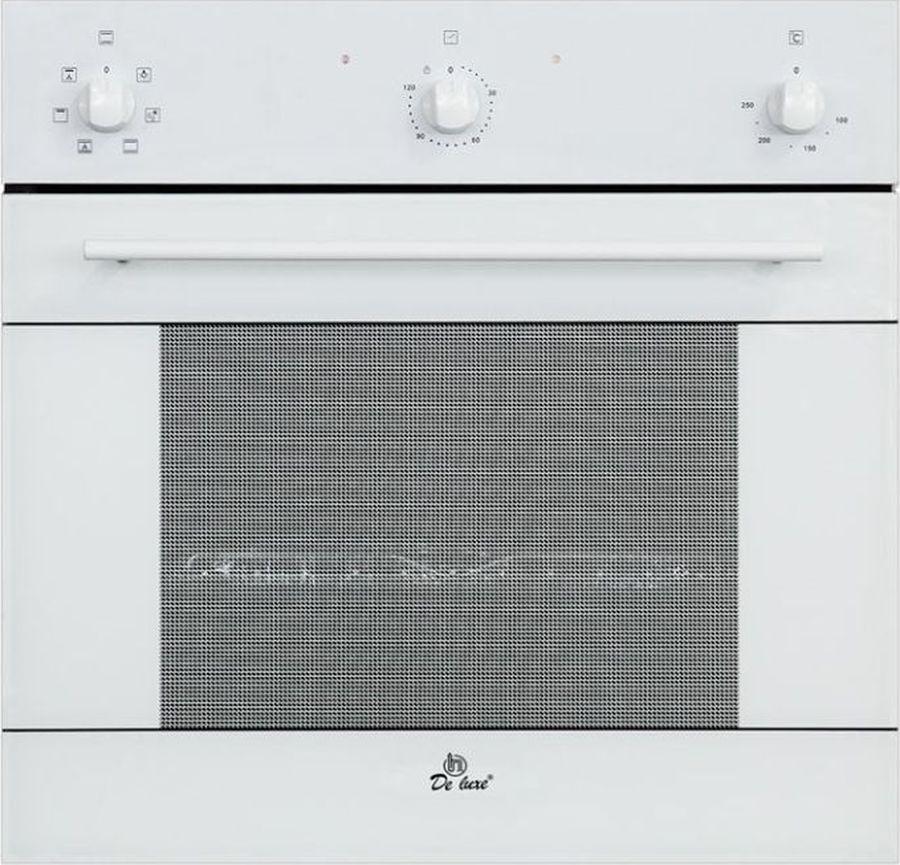 Духовой шкаф De luxe 6006.03 эшв-032, белый