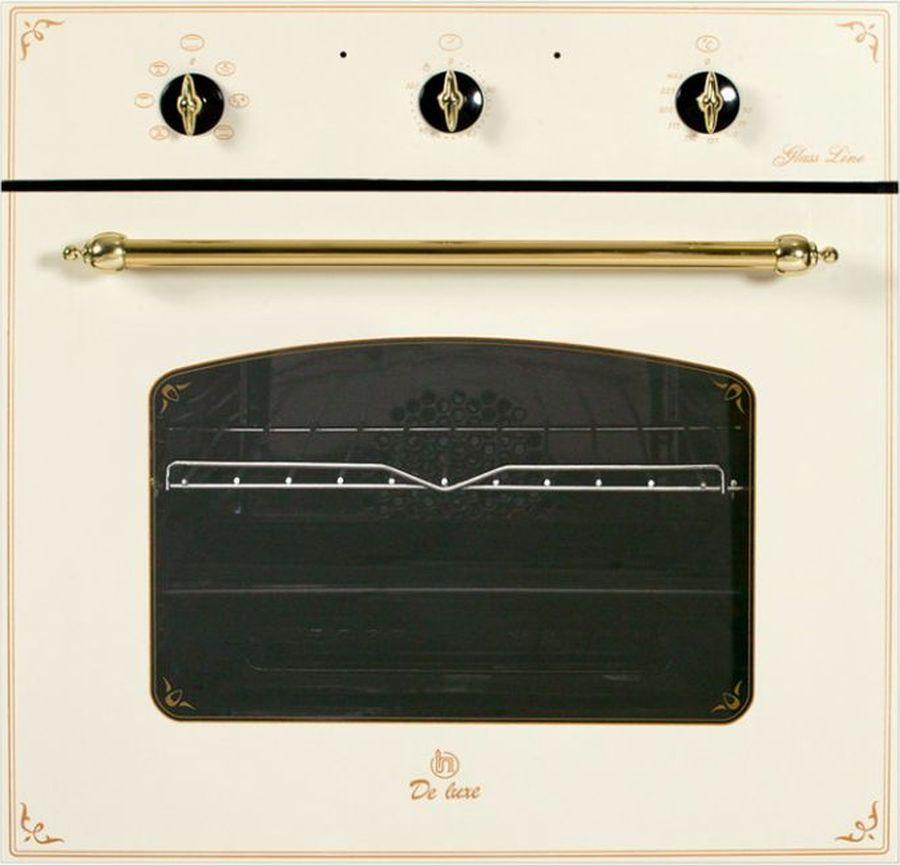 Духовой шкаф De luxe 6006.03 эшв-060, белый