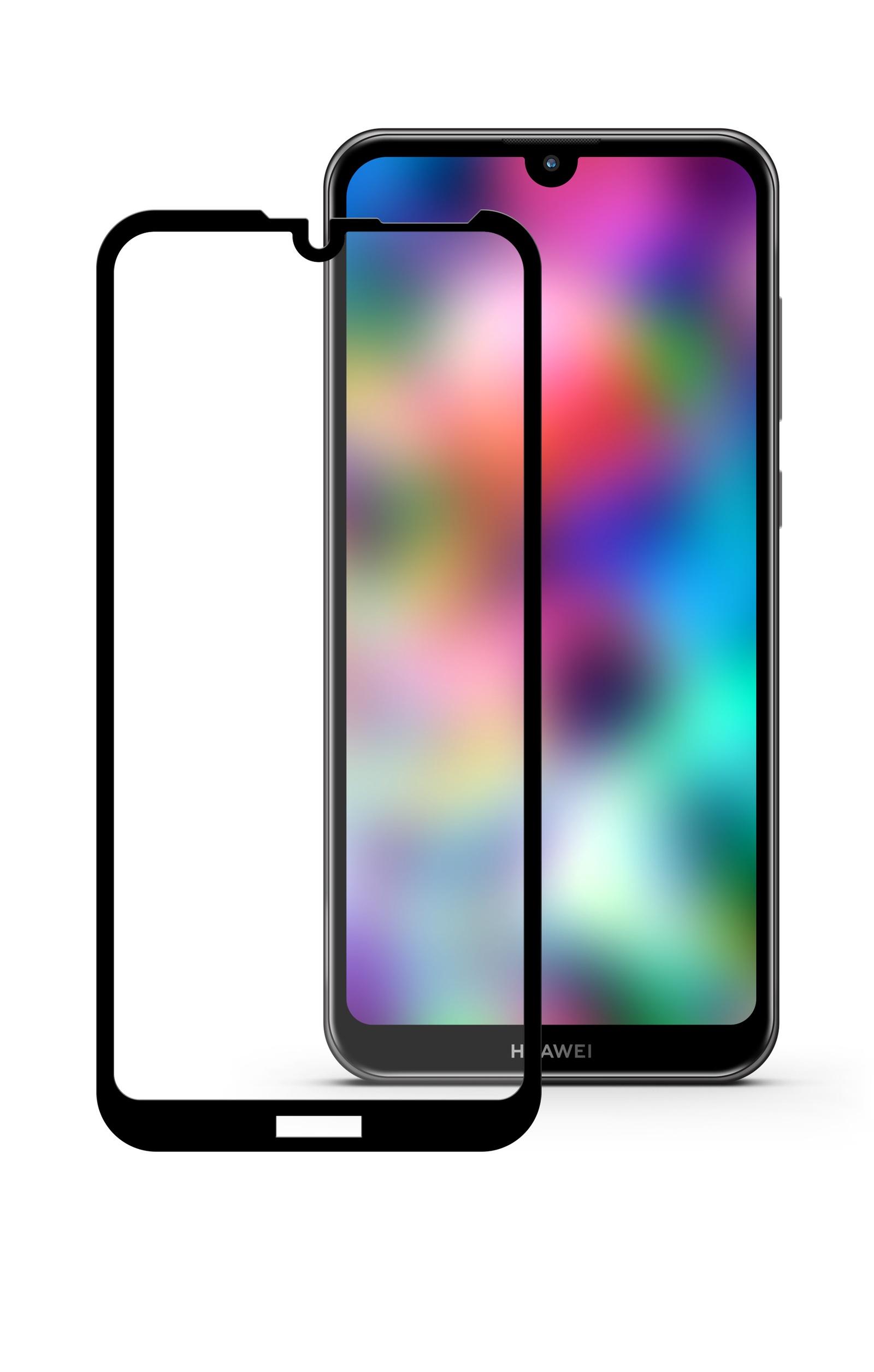 Защитное стекло Mobius Huawei Honor 8A/Y6 2019, черный защитное стекло mobius huawei honor 8x max черный