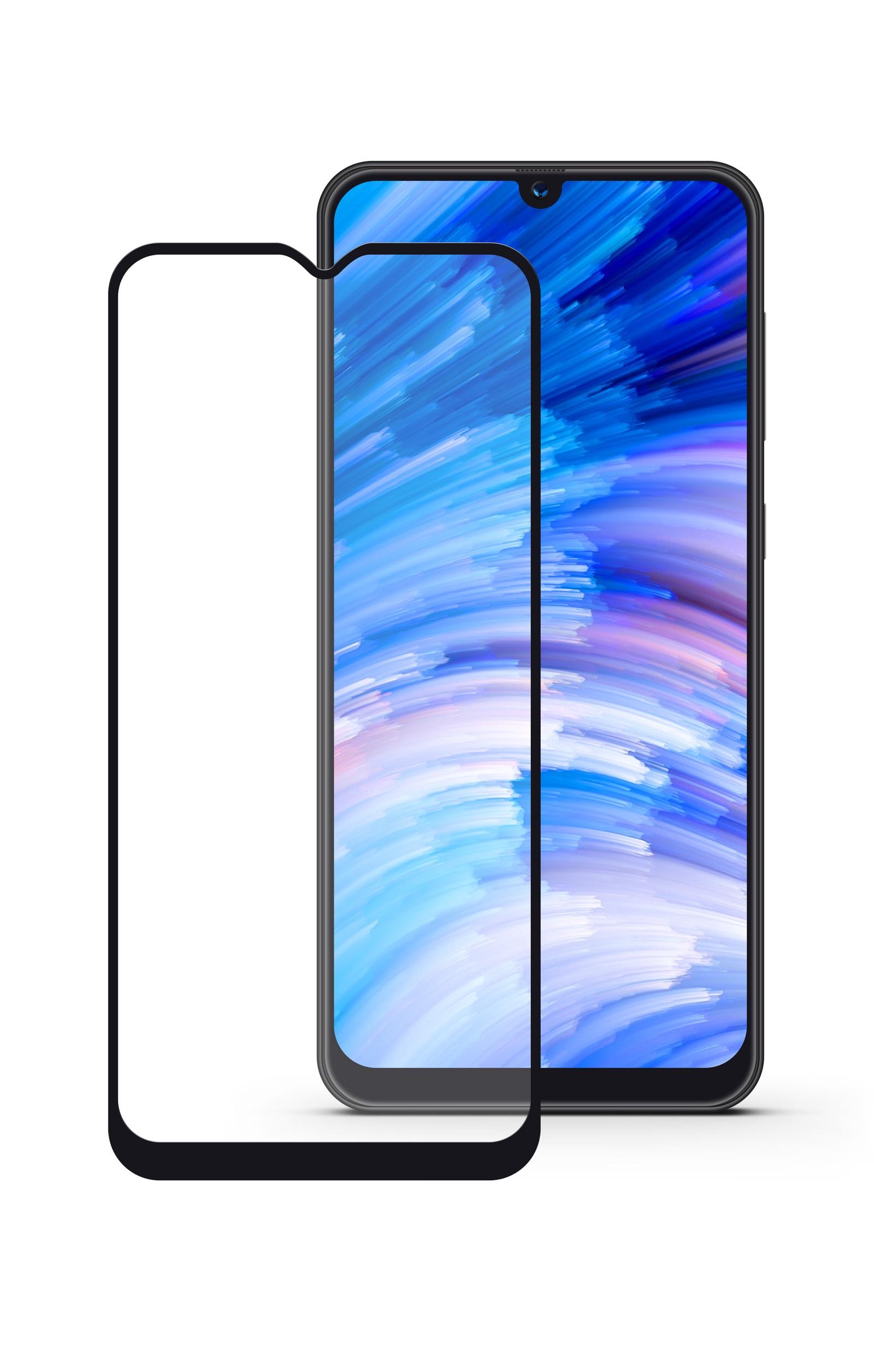 Защитное стекло Mobius Samsung A40, черный защитное стекло mobius samsung note 8 черный