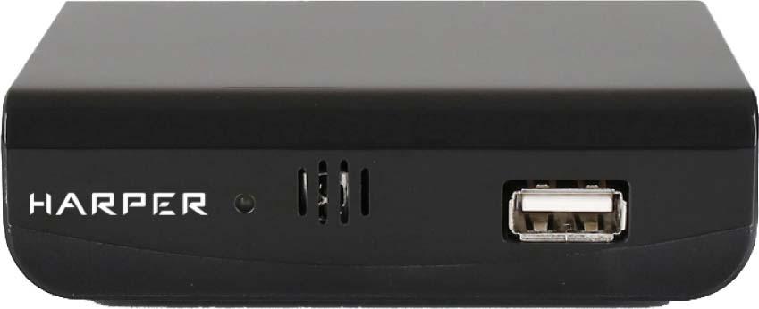 ТВ ресивер Harper HDT2-1030, H00002392, черный