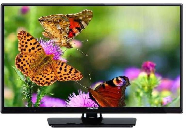 Телевизор Hitachi 32HB4T02, черный цена и фото