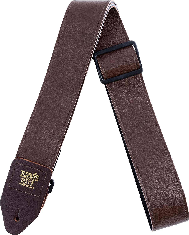 Ремень для гитары Ernie Ball, итальянская кожа, P04135, коричневый цена