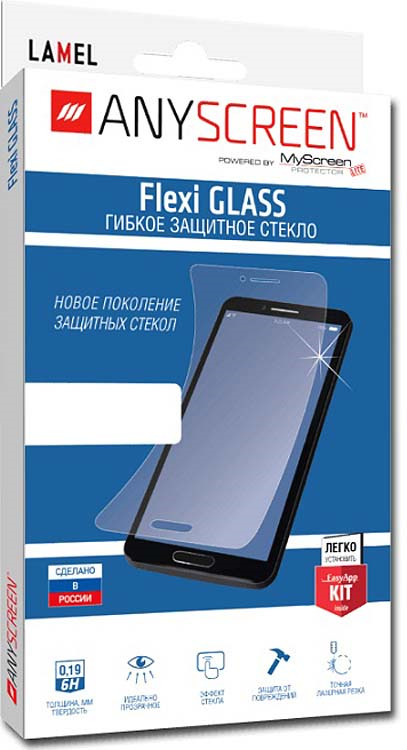 Защитное стекло AnyScreen FullScreen Film для LG K10, прозрачный цена