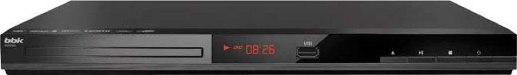 Плеер DVD BBK DVP036S темно-серый Караоке ПДУ