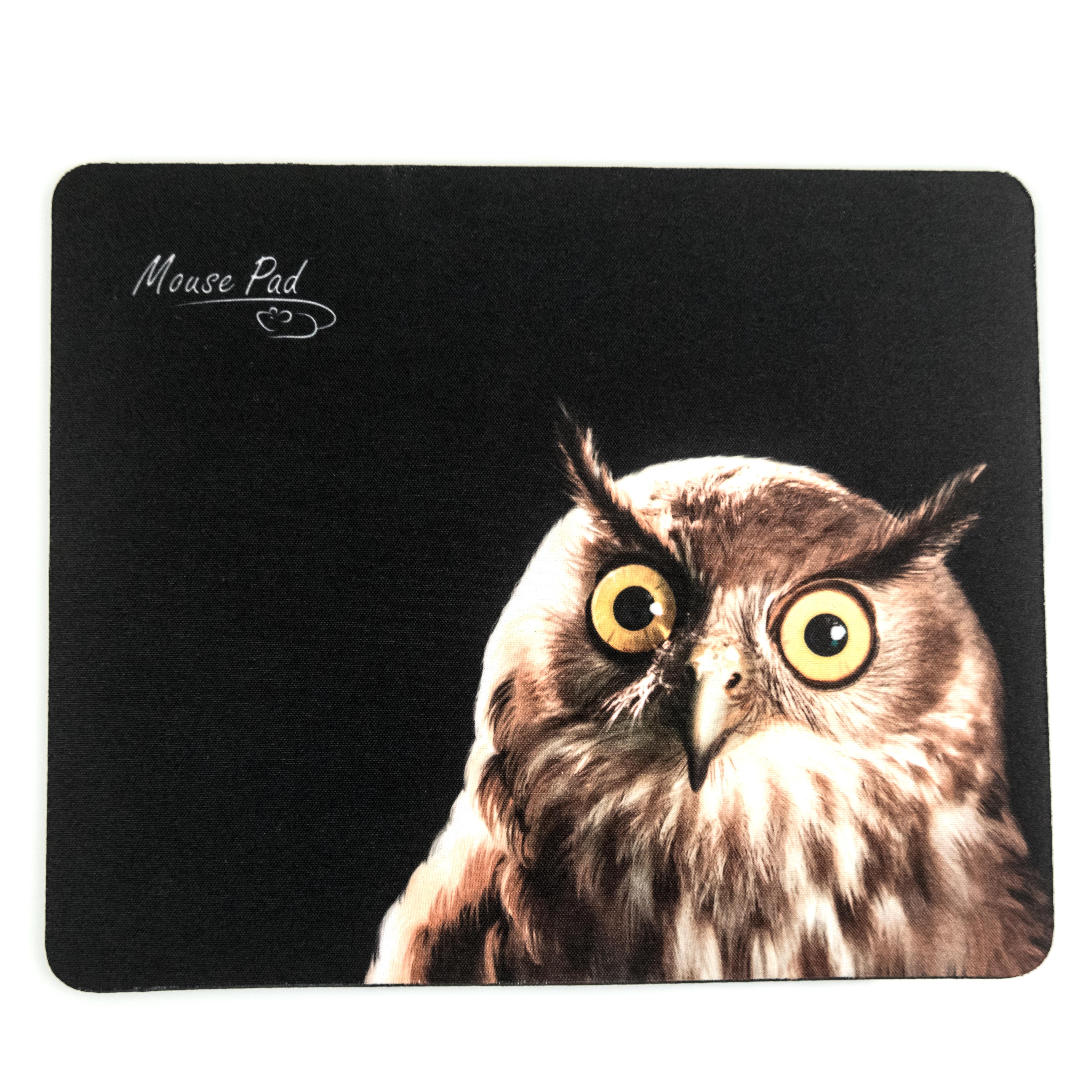 Коврик DIALOG PM-H15 c рисунком совы коврик для мыши dialog pm h50 черный