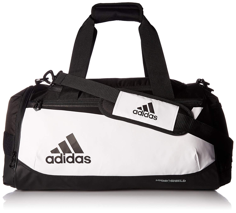 Сумка спортивная Adidas Спортивная сумка Адидас для спорта, белый, черный