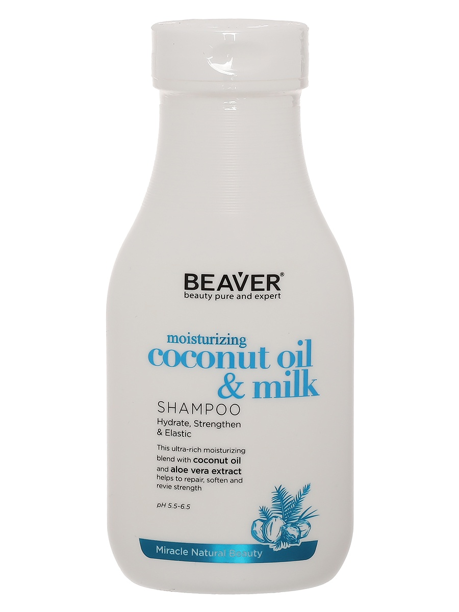 Шампунь для волос Beaver Coconut Oil Shampoo kevin beaver hacking for dummies
