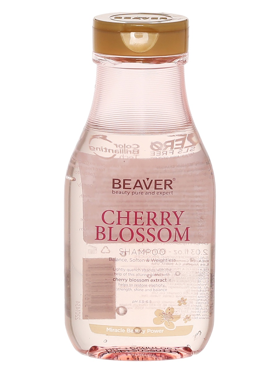 Шампунь для волос Beaver Cherry Blussom Shampoo kevin beaver hacking for dummies