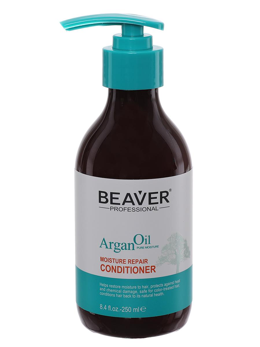 Кондиционер для волос Beaver Увлажняющий и восстанавливающий на основе арганового масла кондиционер ogx аргановое масло марокко 385мл восстанавливающий