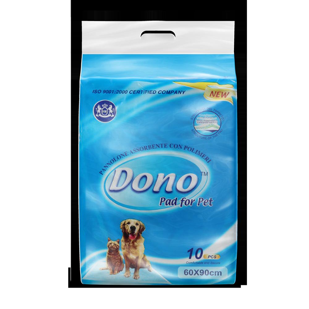 Одноразовые впитывающие пеленки DONO PET PAD размер 60x90 10 штук недорого