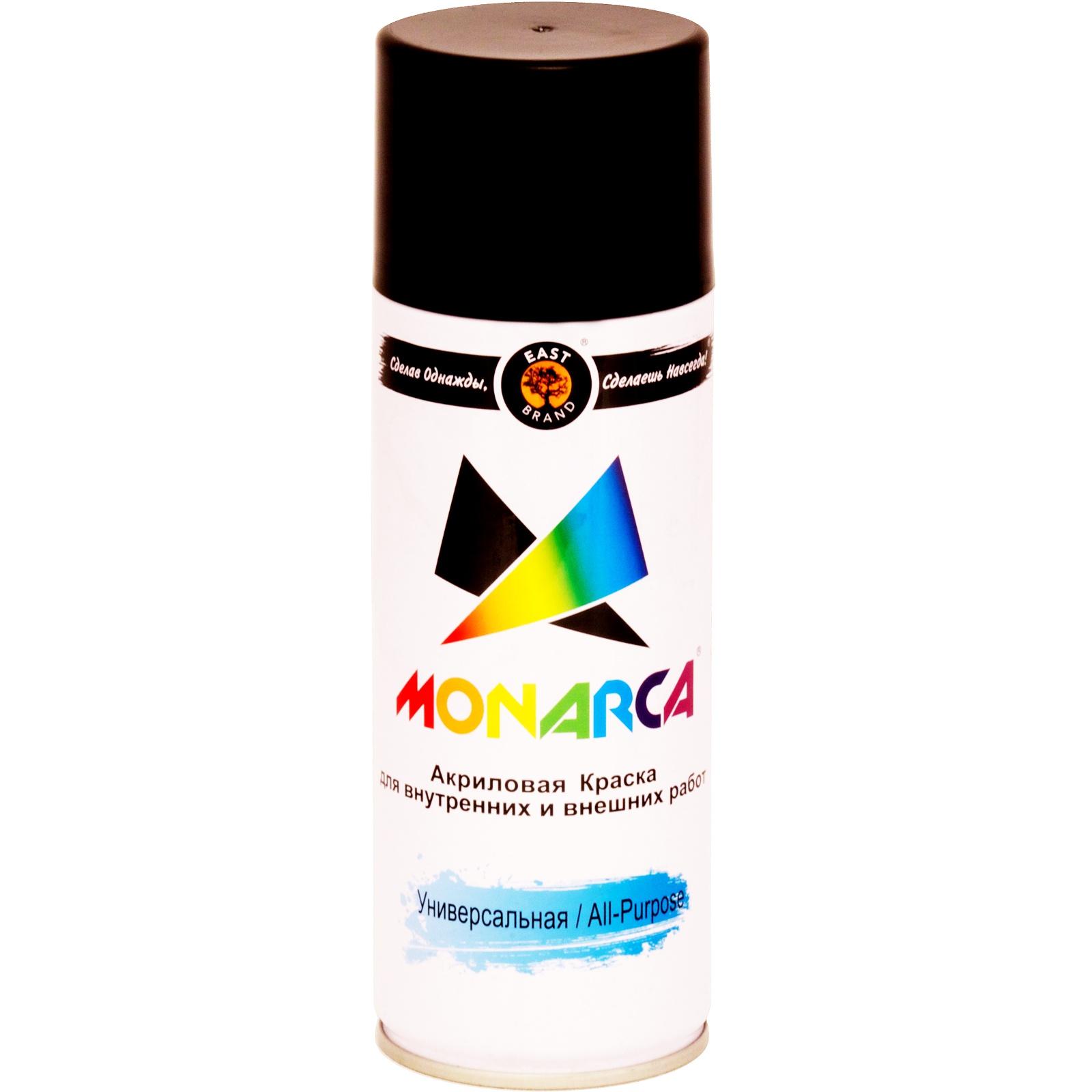 цены Аэрозольная краска Monarca 19505, черный