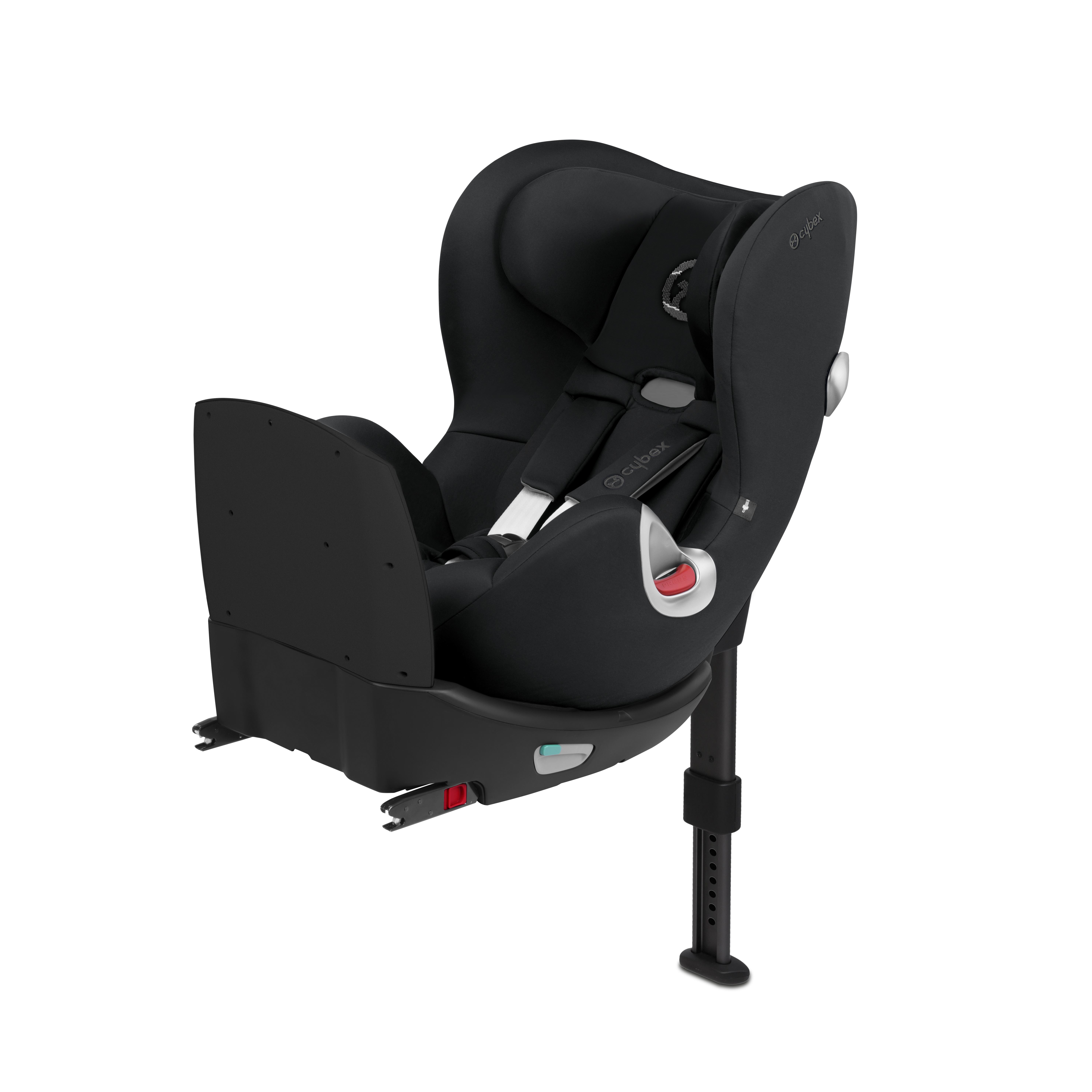 Автокресло Cybex Sirona Q I-Size черный автокресло cybex sirona m2 i size 0 18 кг manhattan grey