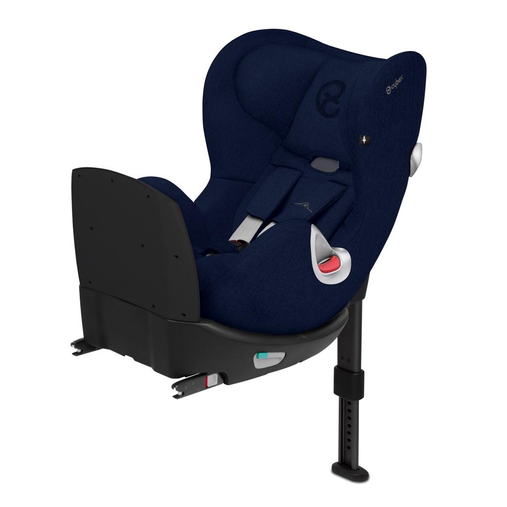 Автокресло Cybex Sirona Q I-Size Plus синий автокресло cybex sirona m2 i size 0 18 кг manhattan grey
