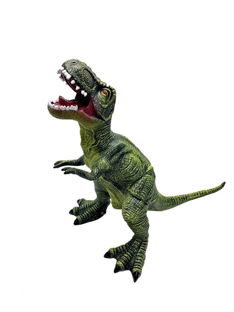 Фигурка АБВГДЕЙКА Тиранозавр РексPE0015Познакомьте своего ребенка с древними жителями нашей Планеты, подарив ему милого, яркого, позитивного малыша Тиранозавра. Дети очень интересуются доисторическим периодом, а при помощи этой приятной на ощупь игрушки они могут разыгрывать интересные сюжеты, придумывать различные приключения.