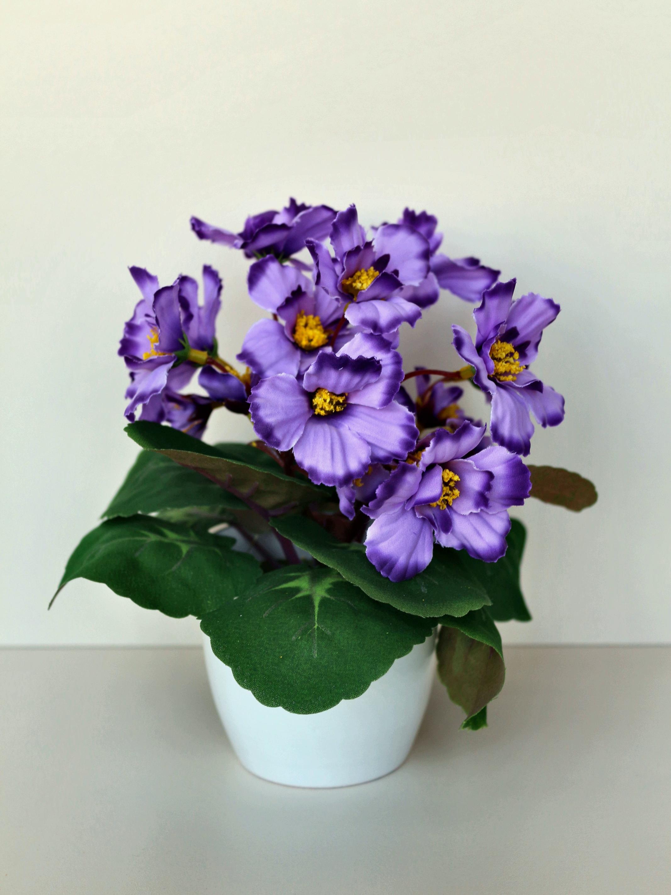 Искусственные цветы 403126, ПВХ, пластик, пенопласт, ткань