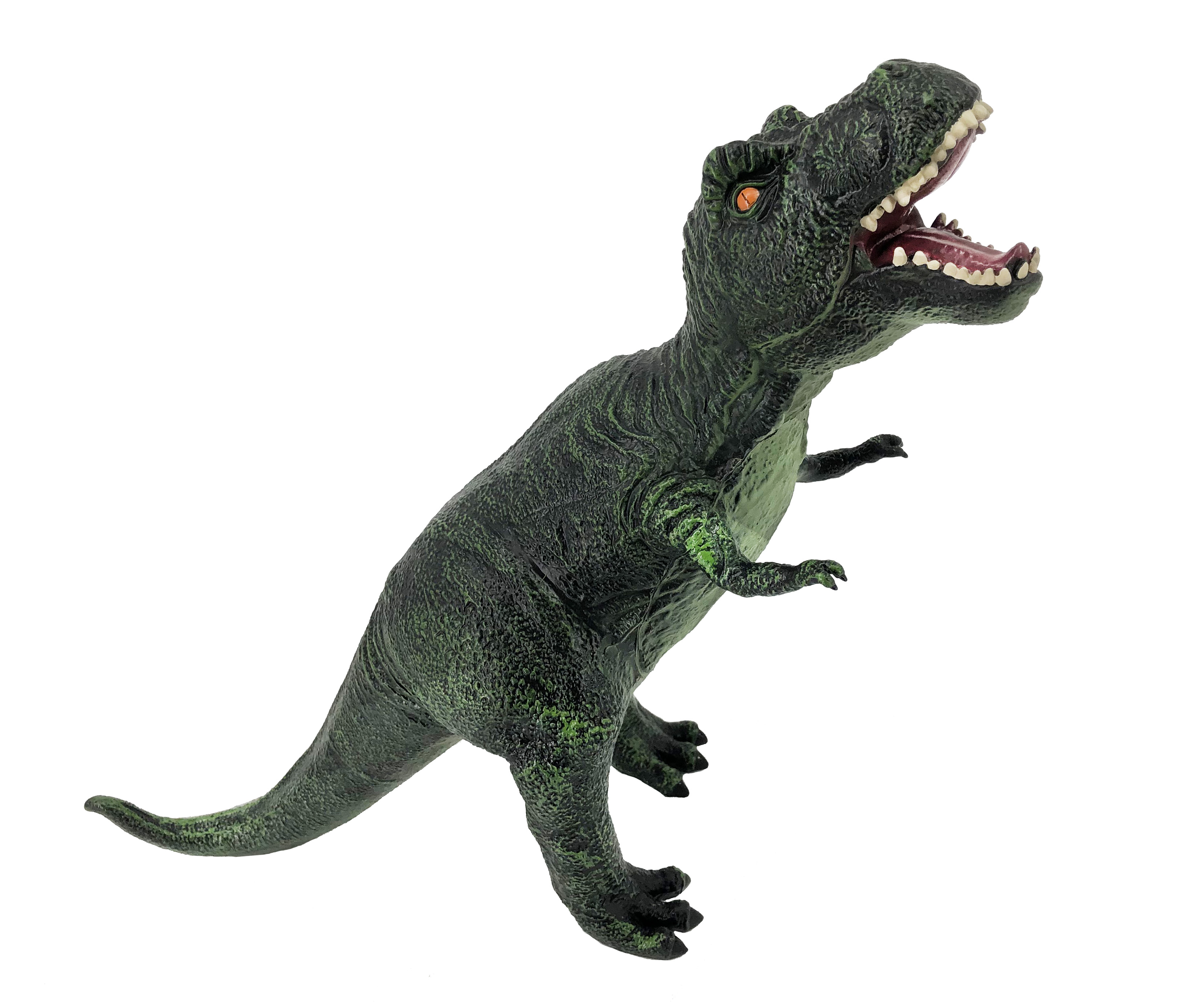 Фигурка АБВГДЕЙКА Динозавр Тиранозавр зеленый