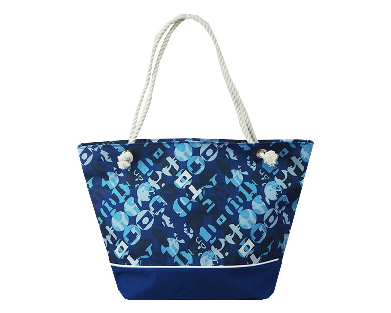 Пляжная сумка Пляжная П-01, синий