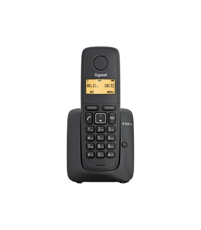 Радиотелефон Gigaset 120A, черный радиотелефон