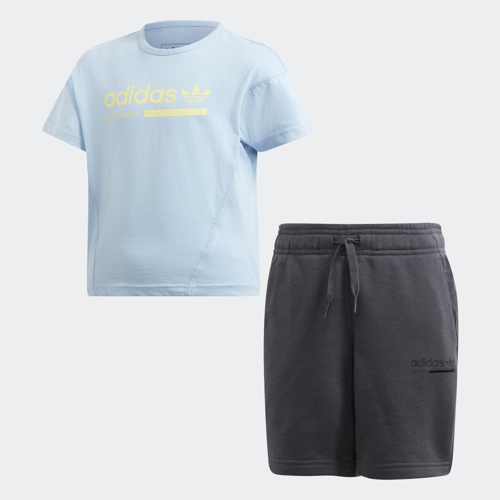 Спортивный костюм adidas спортивный костюм детский adidas i fun jog fl цвет черный серый ce9729 размер 98