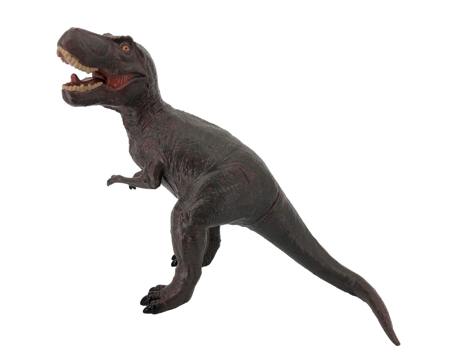 Фигурка АБВГДЕЙКА Динозавр Тиранозавр Рекс бордовый