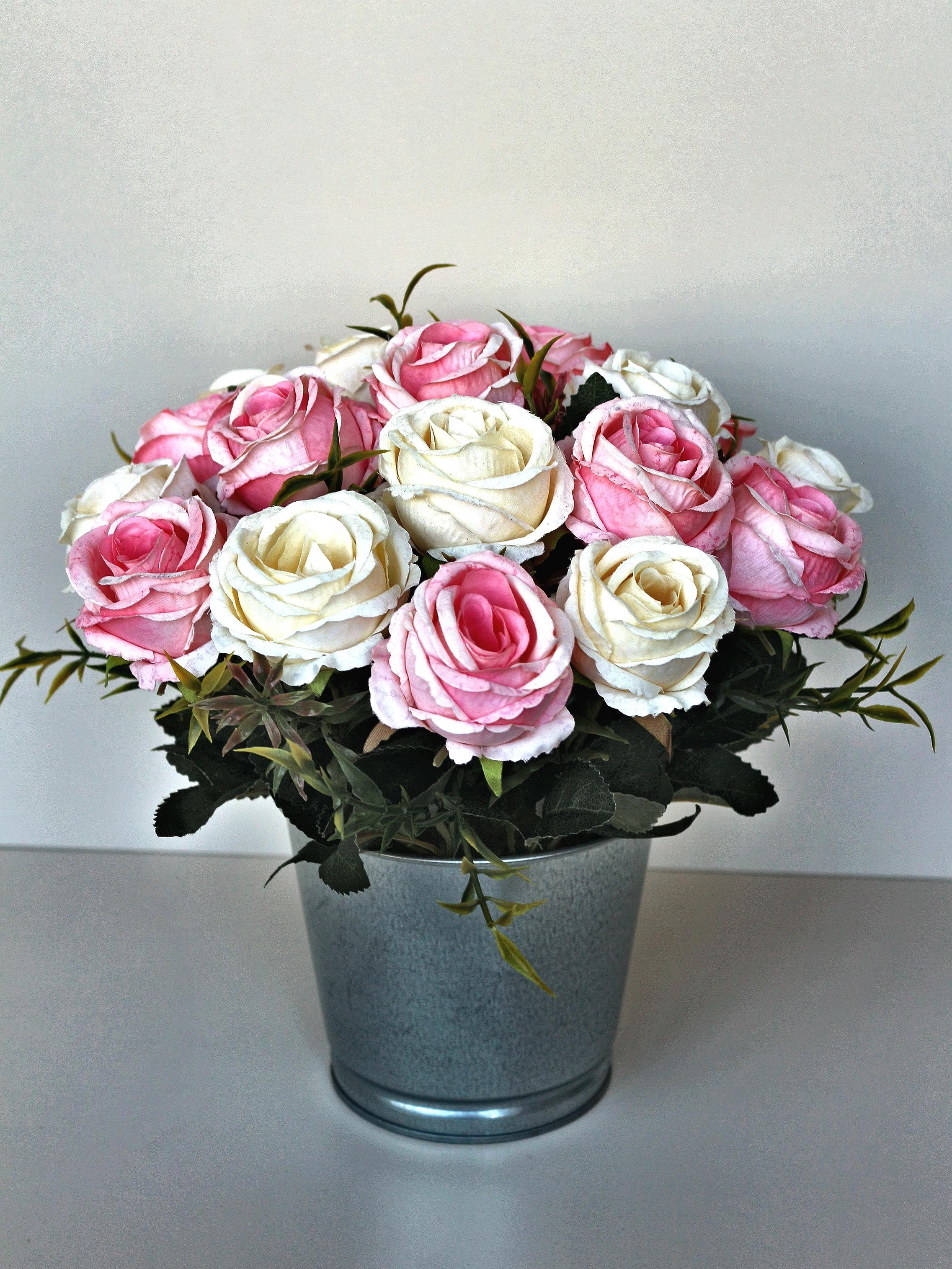 Искусственные цветы 403131, светло-розовый кашпо wonder wood серия бабочки светло розовый