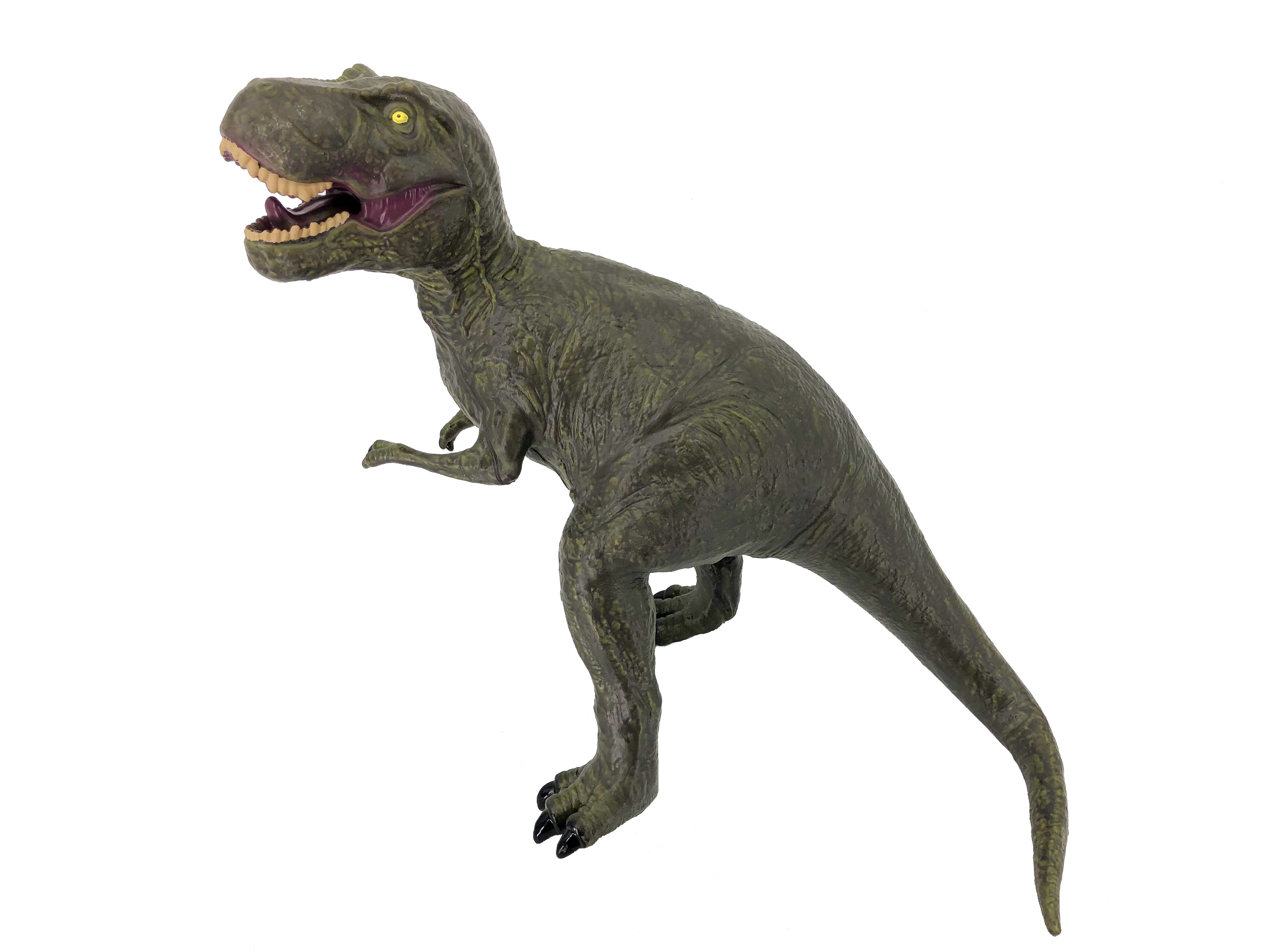 Фигурка АБВГДЕЙКА Динозавр Тиранозавр Рекс зеленый