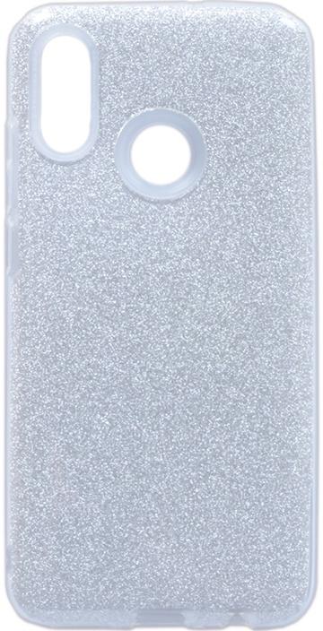 Чехол для сотового телефона GOSSO CASES для Huawei P Smart 2019 Brilliant Shine серебристый, серебристый