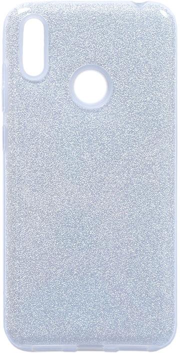 Чехол для сотового телефона GOSSO CASES для Huawei Y7 (2019) Brilliant Shine серебристый, серебристый
