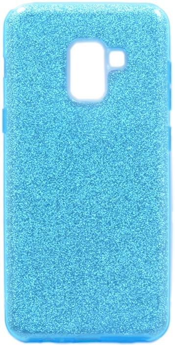 Чехол для сотового телефона GOSSO CASES для Samsung Galaxy A8 Brilliant Shine голубой, голубой