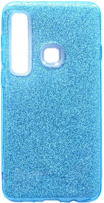 Чехол для сотового телефона GOSSO CASES для Samsung Galaxy A9 Brilliant Shine голубой, голубой
