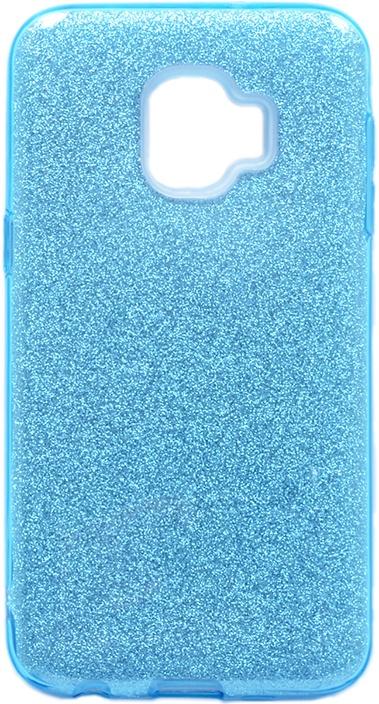 Чехол для сотового телефона GOSSO CASES для Samsung Galaxy J2 Core Brilliant Shine голубой, голубой