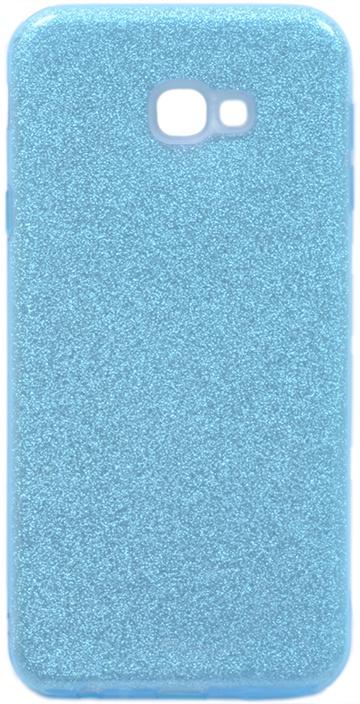 Чехол для сотового телефона GOSSO CASES для Samsung Galaxy J4+ Brilliant Shine голубой, голубой