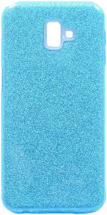 Чехол для сотового телефона GOSSO CASES для Samsung Galaxy J6+ Brilliant Shine голубой, голубой