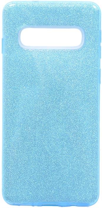 Чехол для сотового телефона GOSSO CASES для Samsung Galaxy S10 Brilliant Shine голубой, голубой